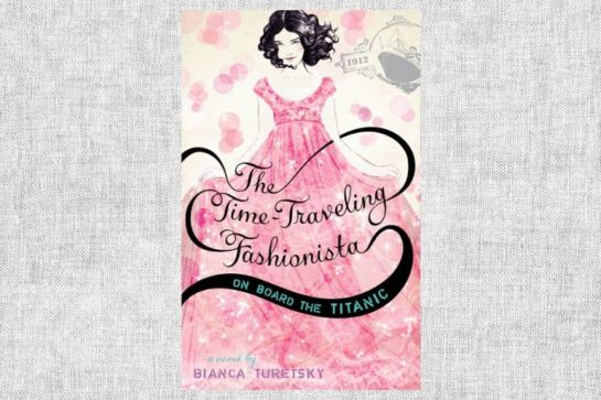 """The Time-Traveling Fashionista on Board the Titanic"" von Bianca Turetsky"